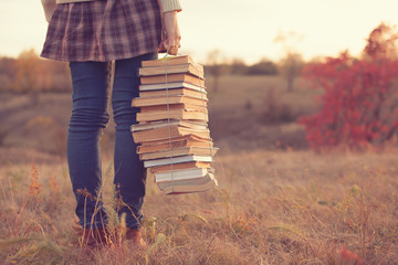 girl books